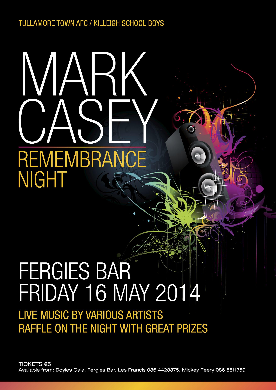 Mark Casey Remembrance Night