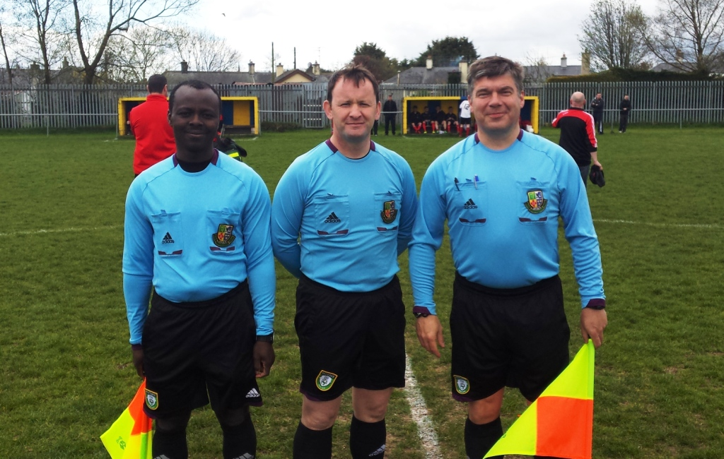 Officials for Division 4 Cup Final