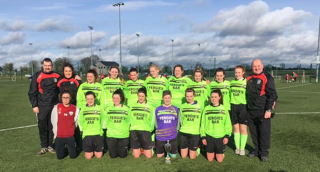 Killeigh Ladies_2016/2017 Women's League Champions