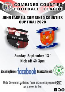Counties Cup final 2020